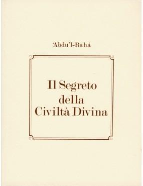libro bahá'í Il segreto della civiltà divina