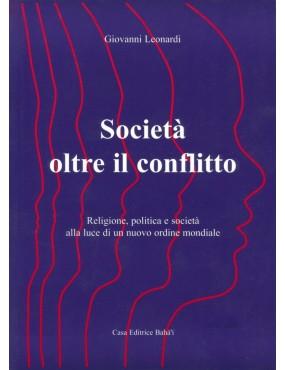 libro bahá'í Societa oltre conflitto