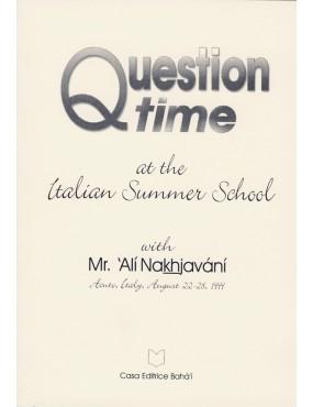 libro bahá'í Question Time