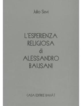 libro bahá'í L'esperienza religiosa di Alessandro Bausani