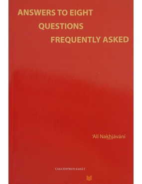 libro bahá'í Answers to Eight Questions Frequently Asked