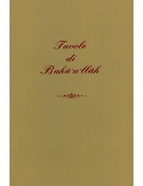 libro bahá'í Tavole di Bahá'u'lláh