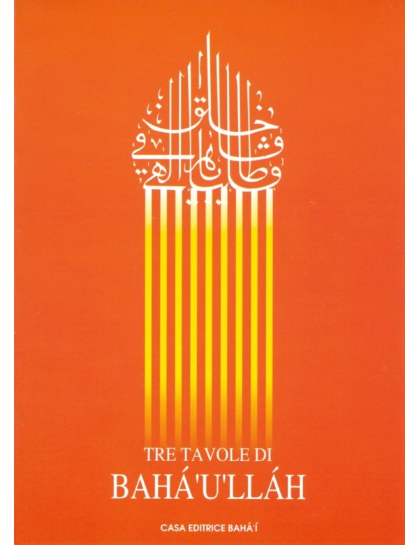 libro bahá'í Tre Tavole di Bahá'u'lláh