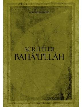 libro bahá'í Scritti di Bahá'u'lláh