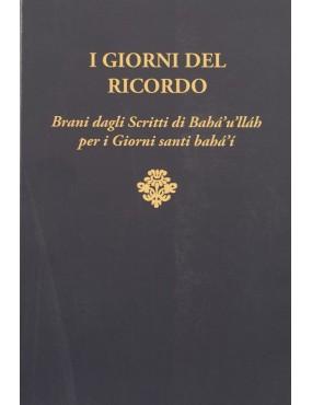 libro bahá'í I Giorni del ricordo