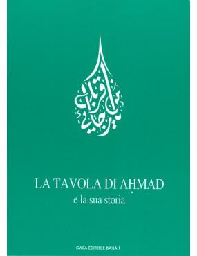 libro bahá'í La Tavola Ahmad e la sua storia