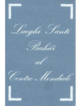 libro bahá'í Luoghi santi bahá'í