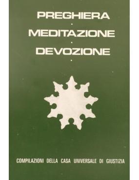 libro bahá'í Preghiera - Meditazione - Devozione