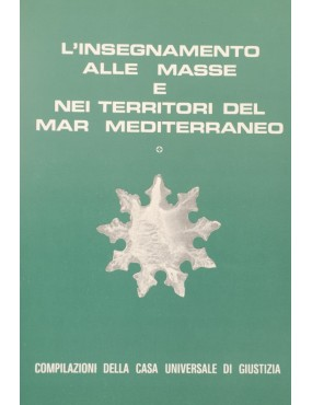 libro bahá'í L'insegnamento alle masse e nei territori del mar mediterraneo