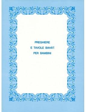 libro bahá'í Preghiere e tavole per bambini