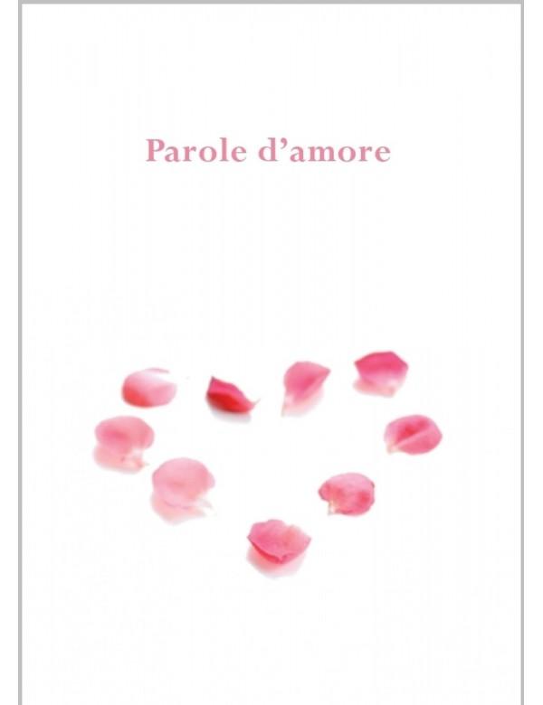 libro bahá'í Parole d'amore