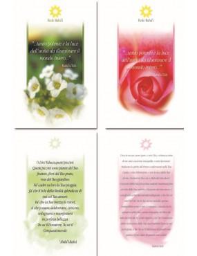 libro bahá'í Passi su cartoncino
