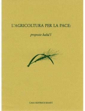 libro bahá'í Agricoltura per la pace