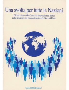 libro bahá'í Una svolta per tutte le nazioni