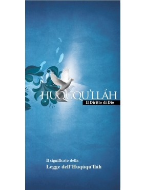 libro bahá'í Significato dell'Ḥuqúqu'lláh. Brochure