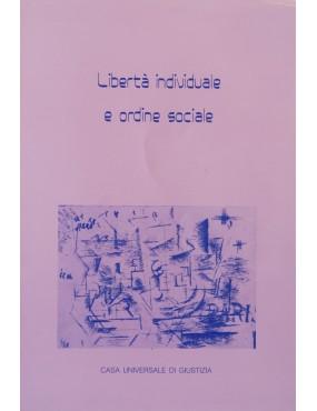 libro bahá'í Libertà individuale e ordine sociale