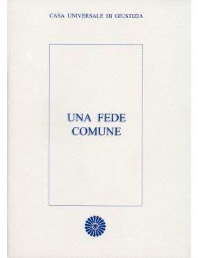 libro bahá'í Una fede comune