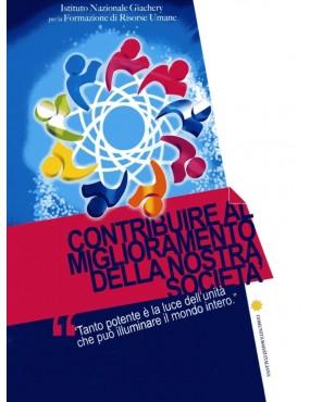 libro bahá'í Contribuire al miglioramento della comunità attraverso l'azione sociale. Brochure sulle attività