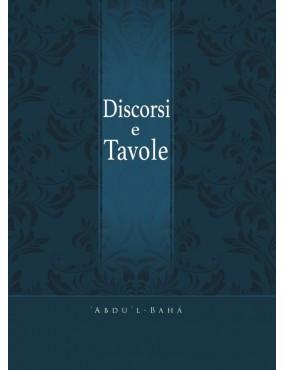 libro bahá'í Discorsi e tavole