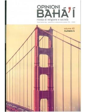 libro bahá'í Opinioni bahá'í 2016 inverno