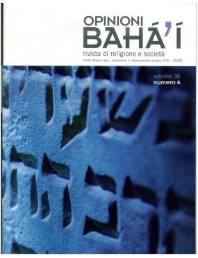 libro bahá'í Opinioni bahá'í 2012 inverno