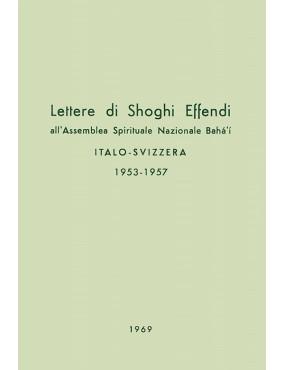 libro bahá'í Lettere di Shoghi Effendi all'Assemblea Spirituale Nazionale italo-svizzera