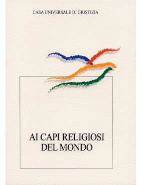 libro bahá'í ai capi religiosi mondo