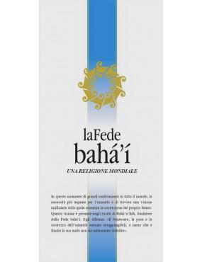 libro bahá'í La Fede bahá'í, una religione mondiale. Brochure